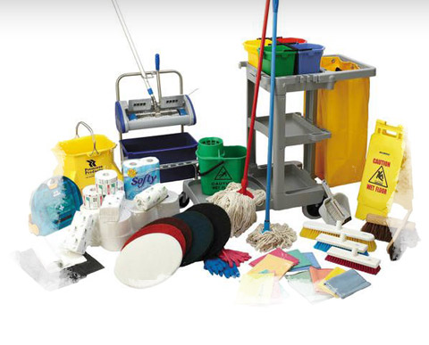 Cleaning and safety products